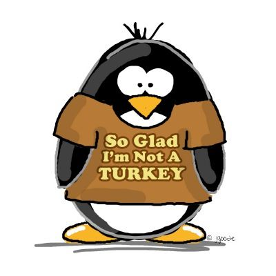 Penguin picture eating and. Clipart penquin thanksgiving