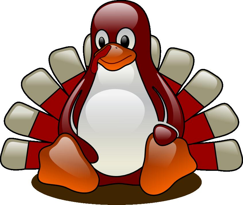 Turkey penguin clip art. Clipart penquin thanksgiving
