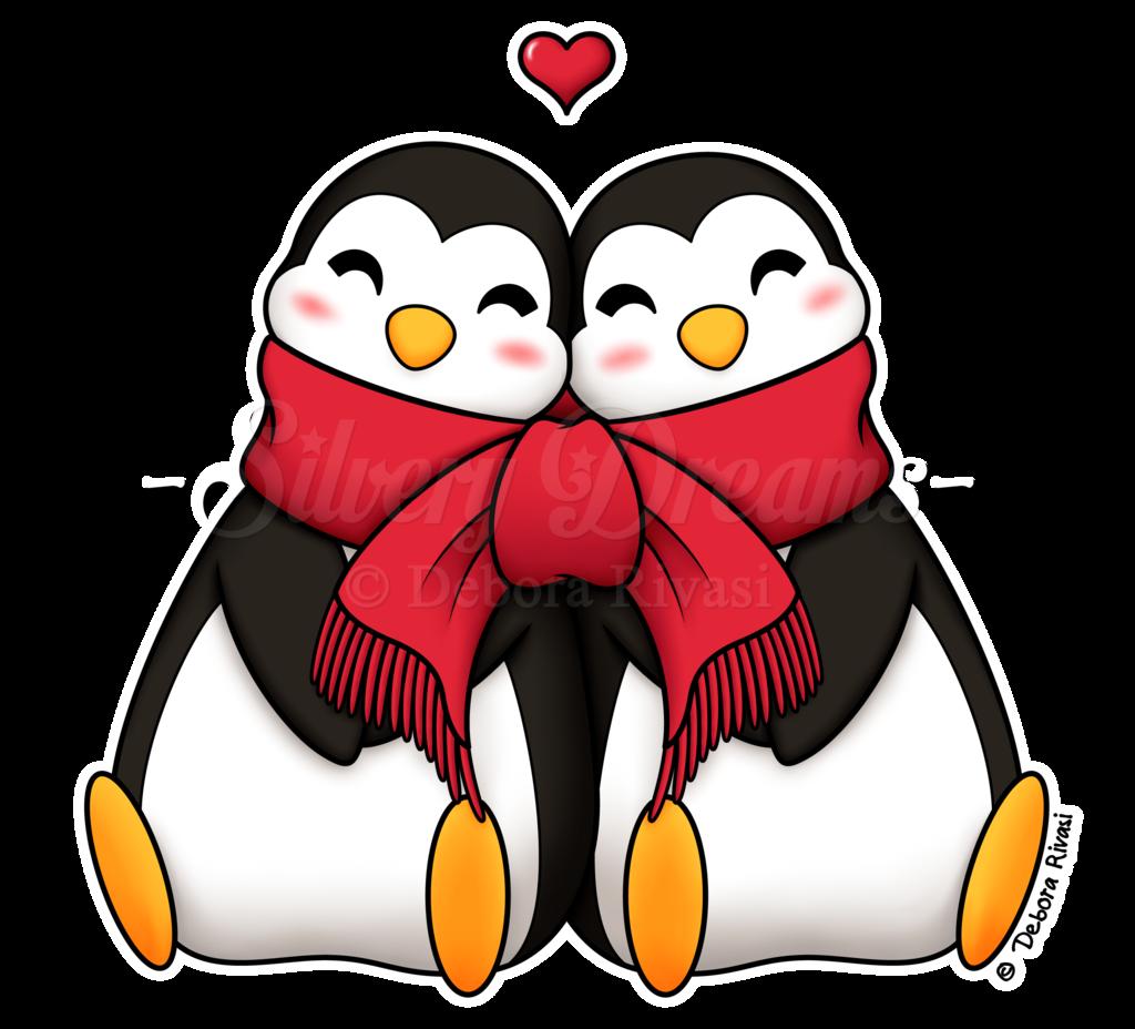 Penguins favourites by parallelpenguins. Clipart penguin valentine