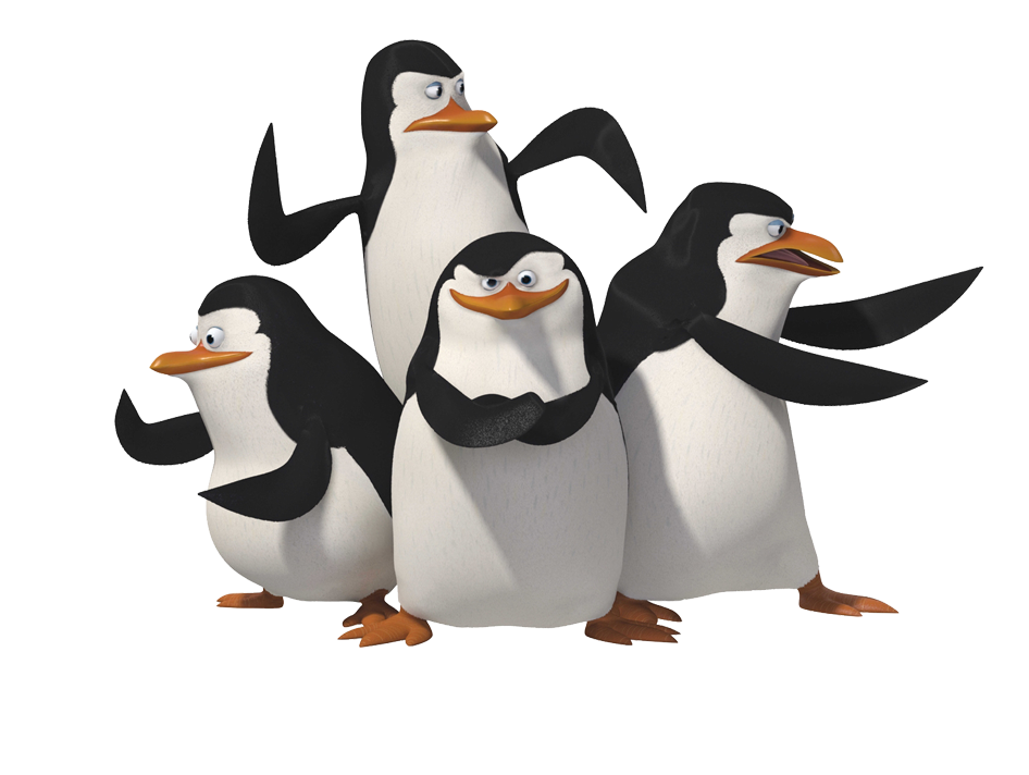 Clipart penquin group penguin. Vector download free png