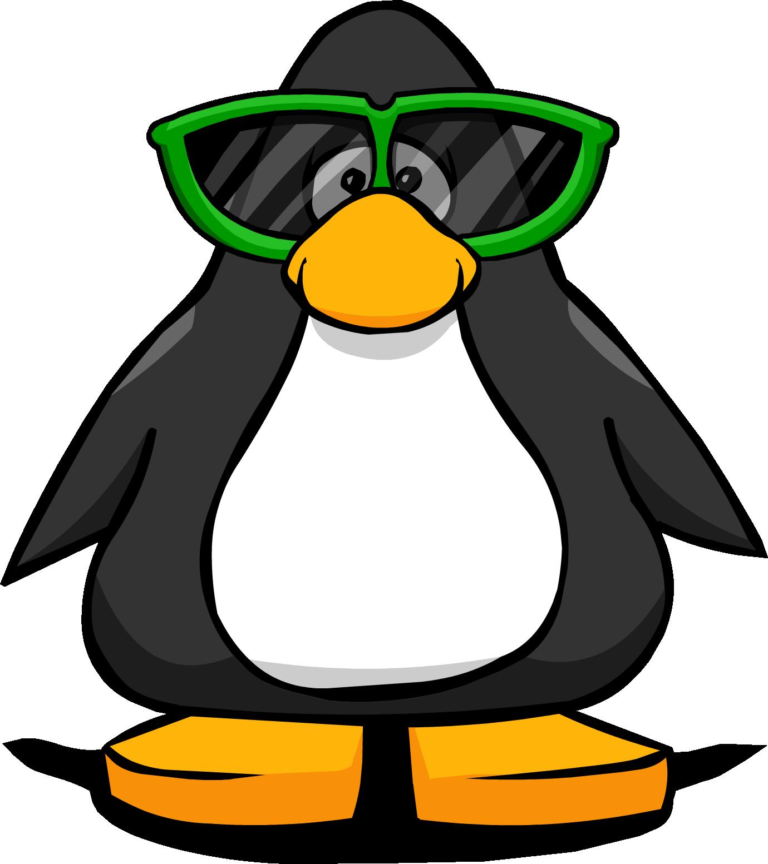 Clipart penguin walking. Giant sunglasses club rewritten