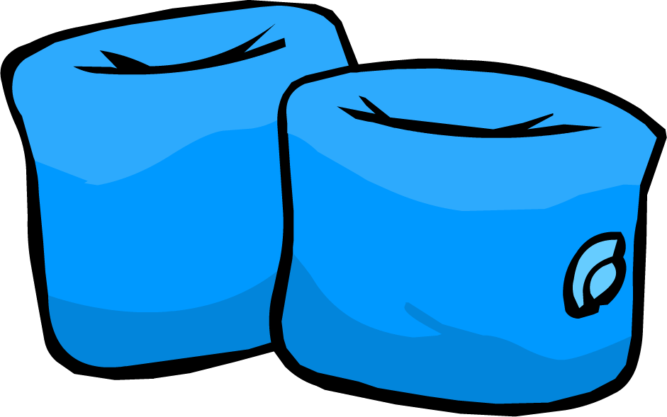 Image blue wings icon. Party clipart water