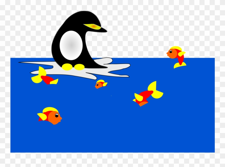 Clipart penguin water. Ducks geese and swans