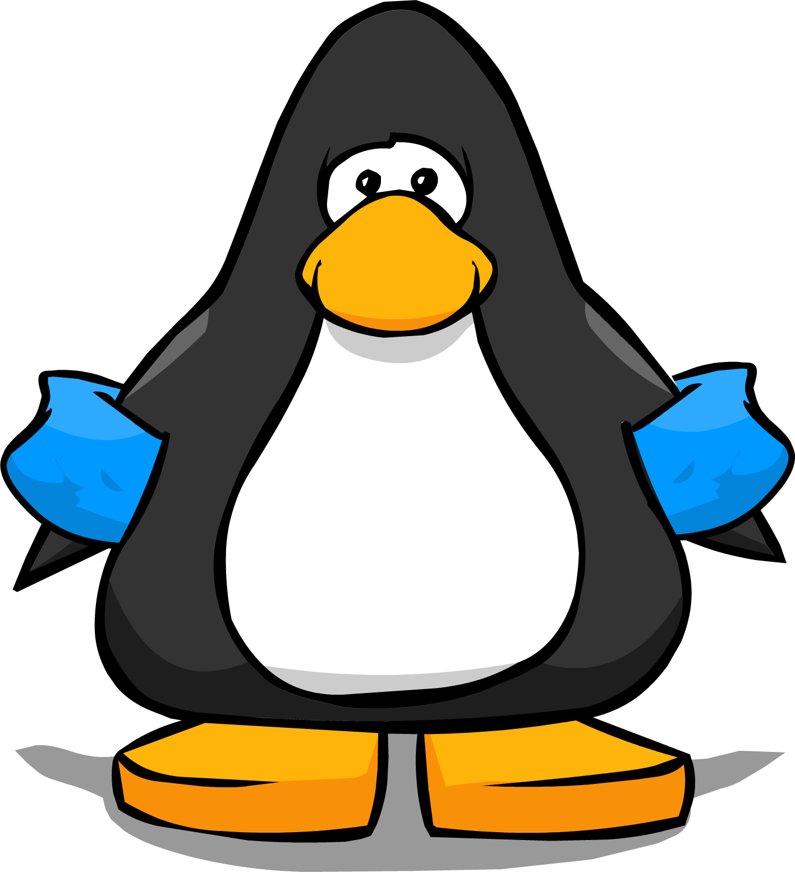 penguin clipart water