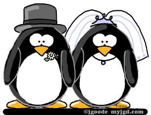 Clipart penguin wedding. Clip art library