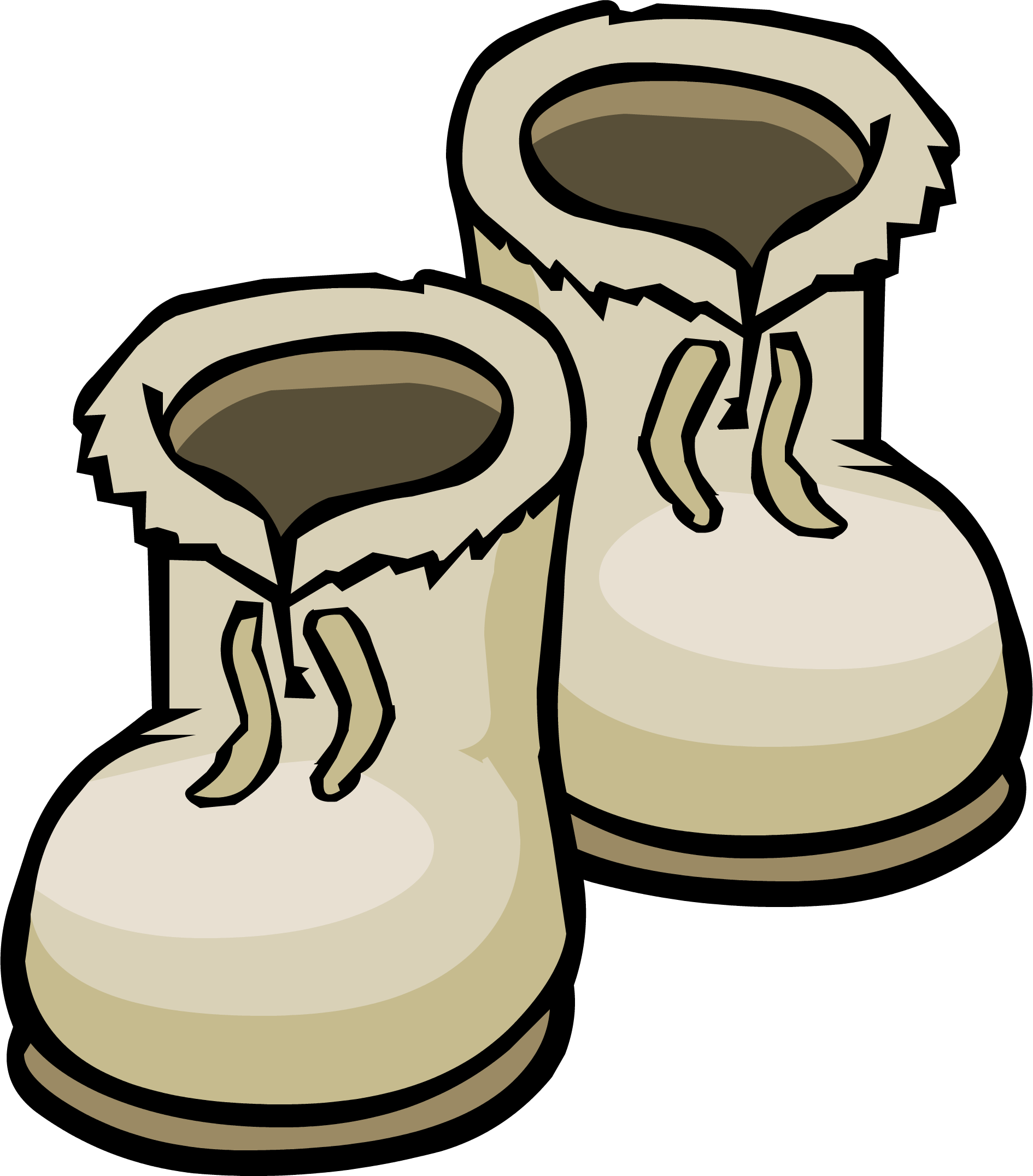Boots club penguin wiki. Winter clipart boot