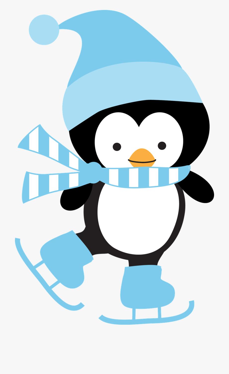 Winter penguin free . Clipart penquin pengui