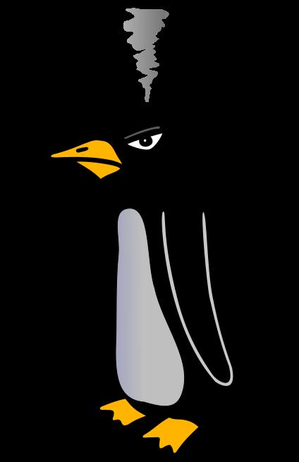 Clipart penquin angry penguin. Down archive whiteblaze