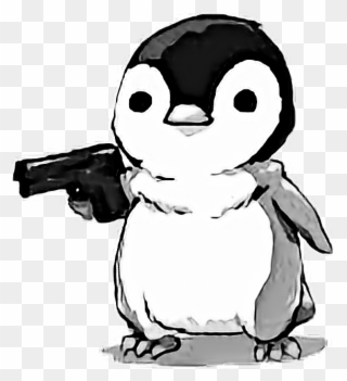 Cute nooo meme png. Clipart penquin angry penguin