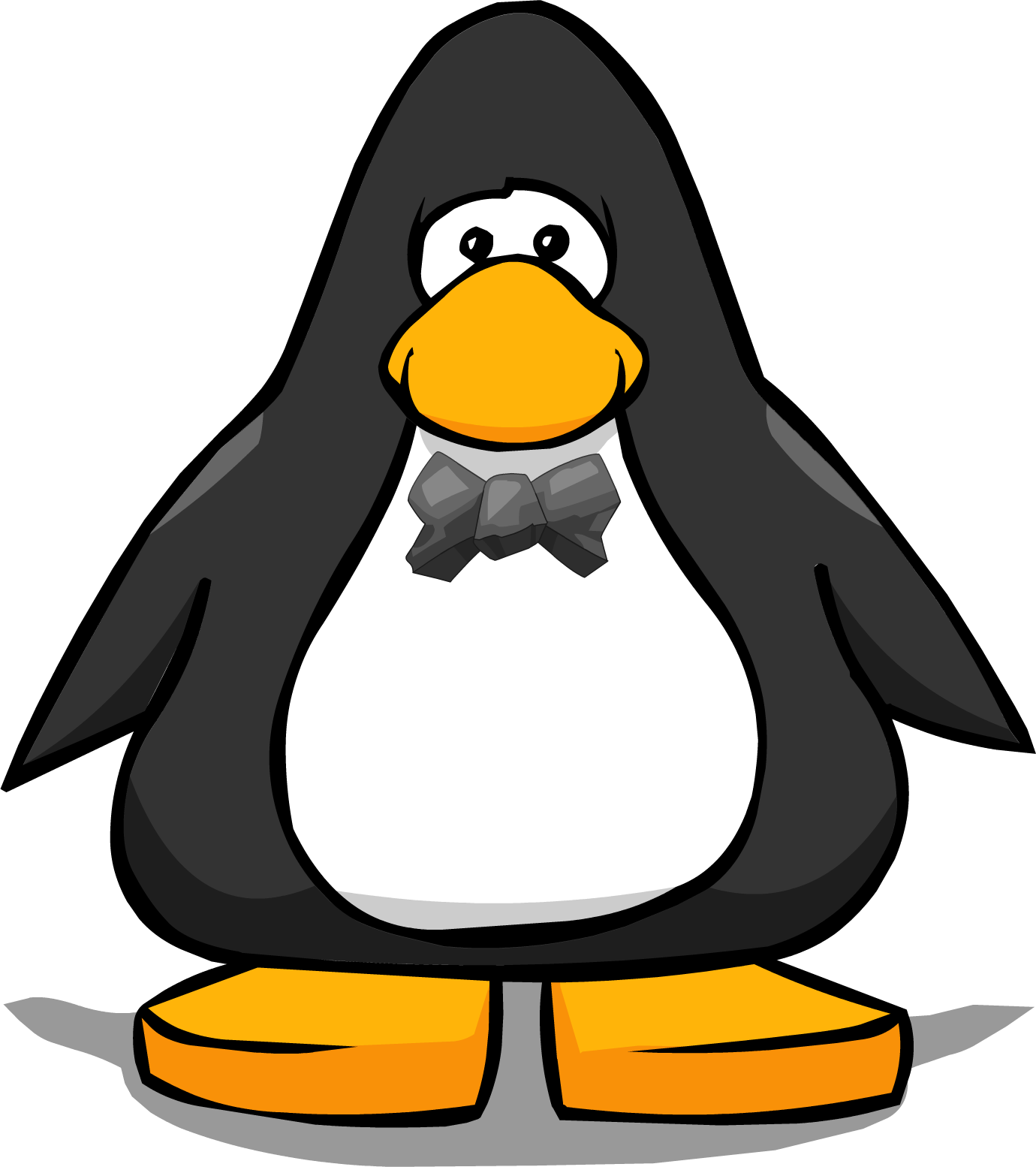 Clipart penquin bow tie. Image stone from a