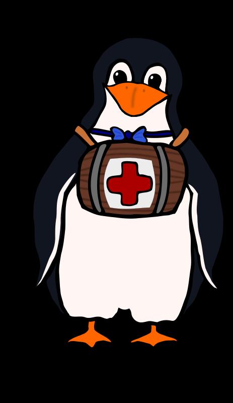 Clipart penquin bow tie. St bernard s penguin