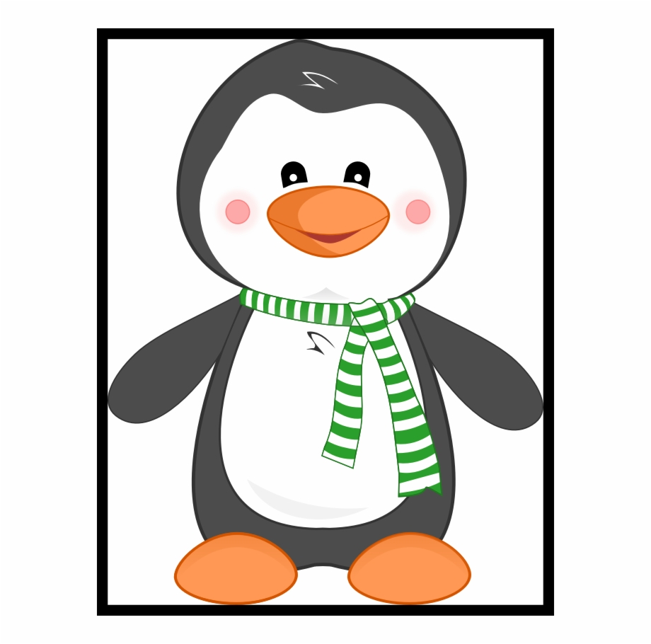 Clipart penquin colored. Best penguin bbq pencil