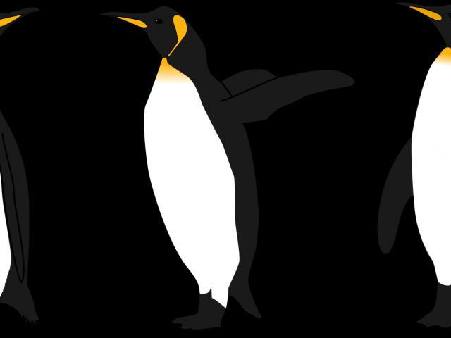 clipart penquin dancing penguin