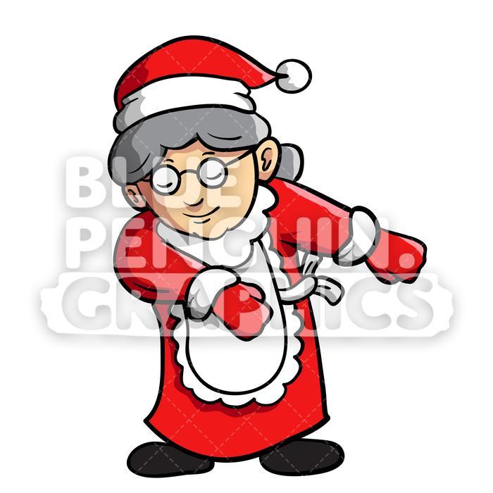 Mrs floss dance vector. Clipart penquin dancing santa
