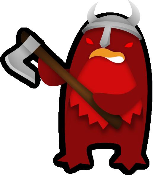 clipart penquin evil