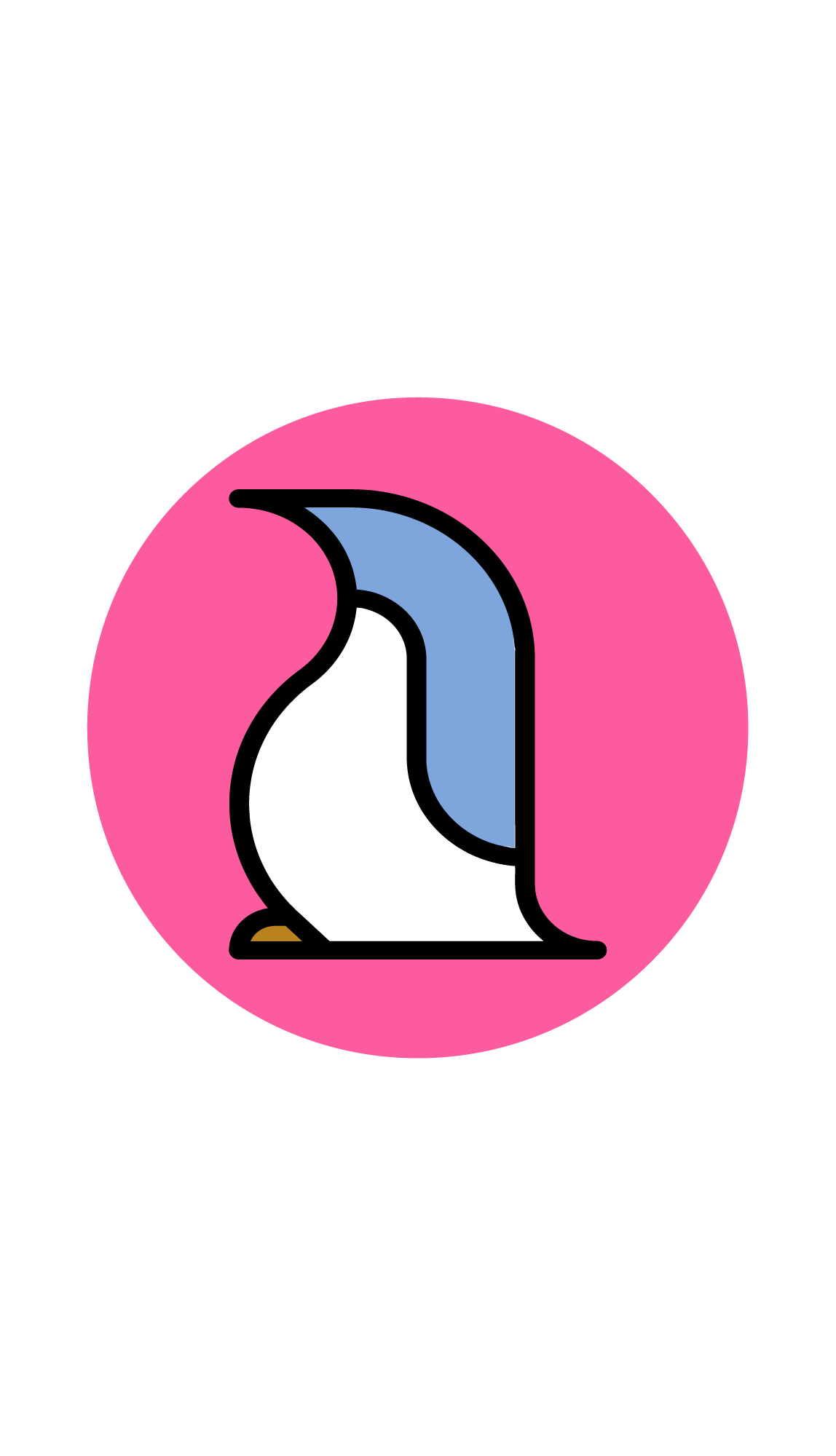 Clipart penquin footprint. Blue penguin coffee organic