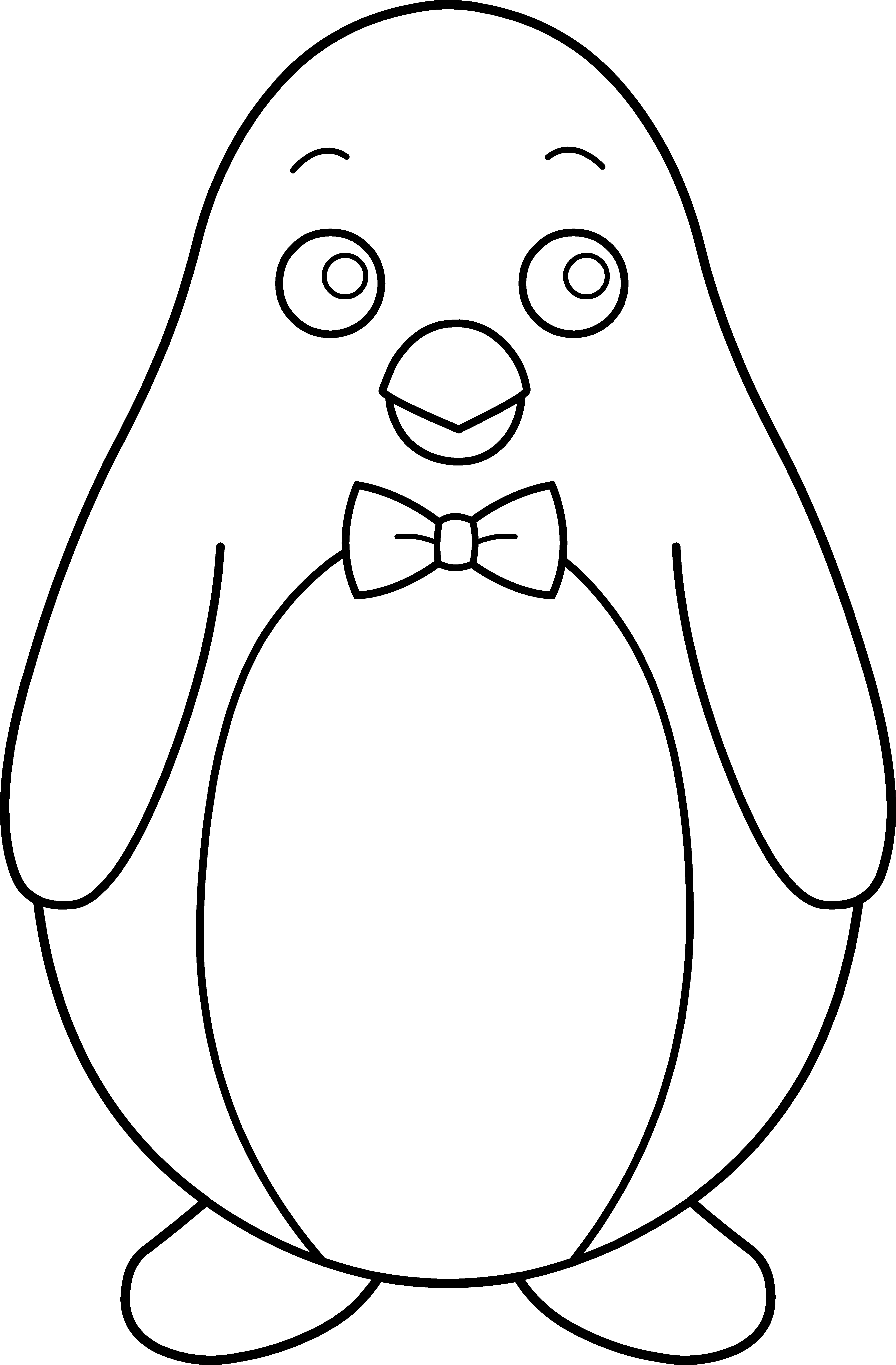 Clipart penquin girly. Necktie panda free images