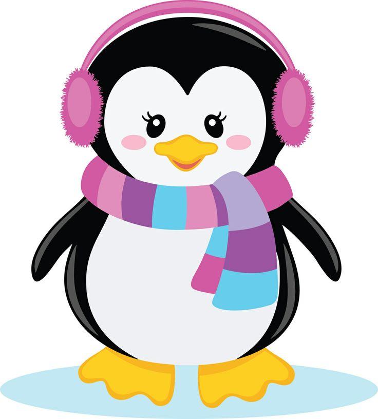 Clipart penquin girly. Girl penguin clip art