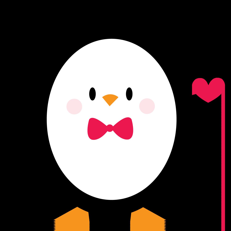 Penguin clip art arts. Clipart penquin heart