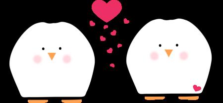 February clipart cartoon. Free penguin love cliparts