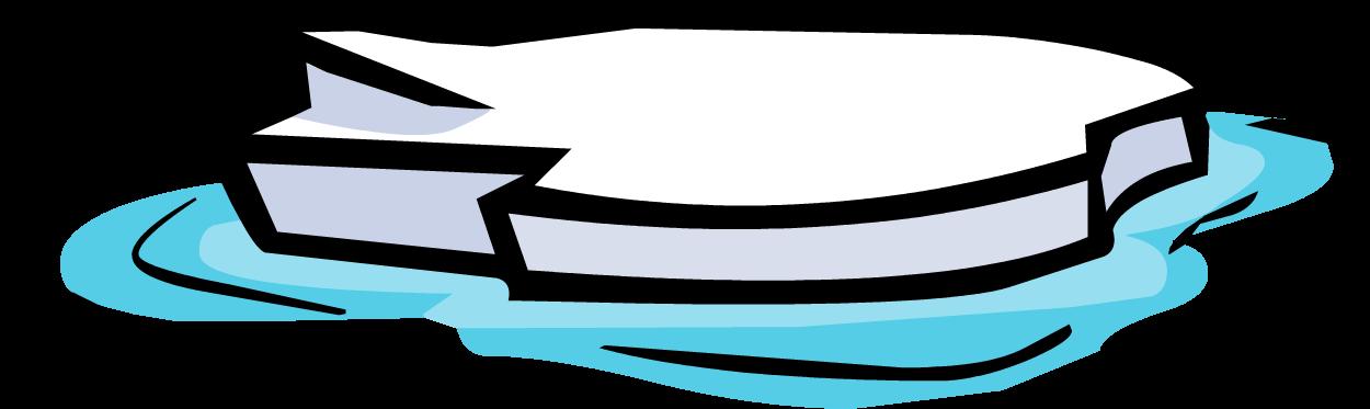clipart penquin iceberg clipart