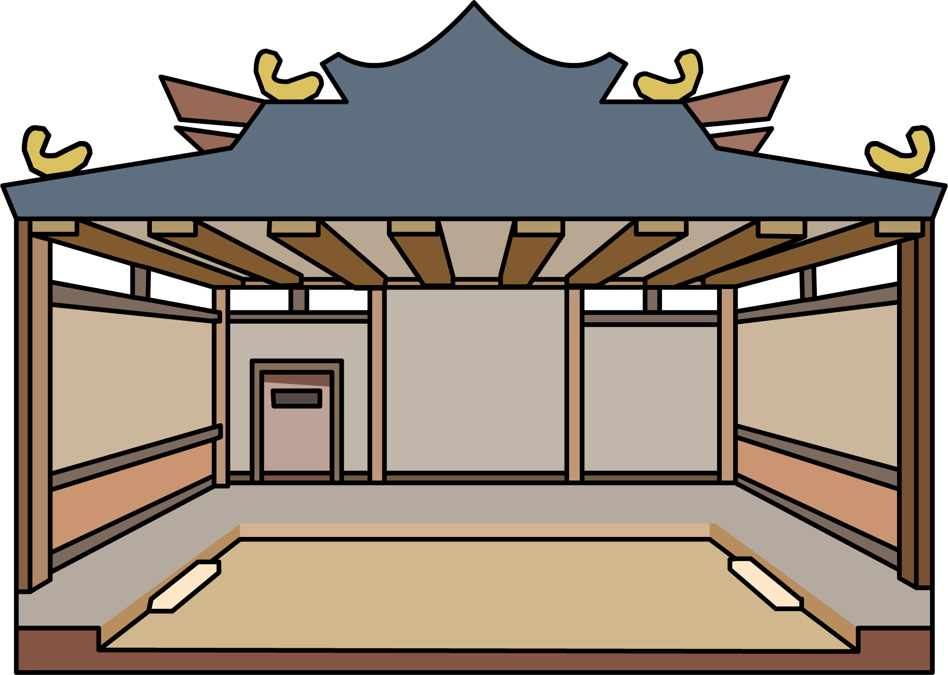 Image dojo igloo icon. Gingerbread clipart ninja