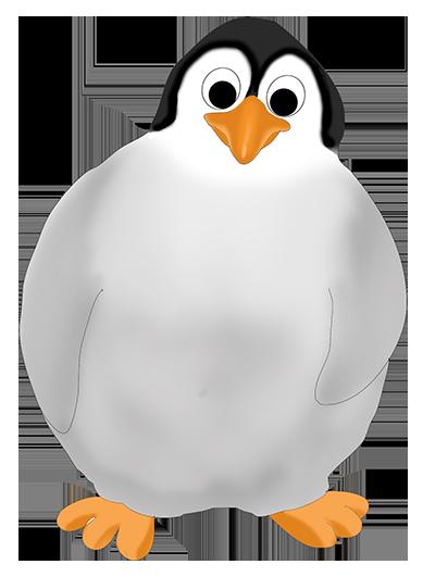 Clipart penquin kid. Funny penguin clip art
