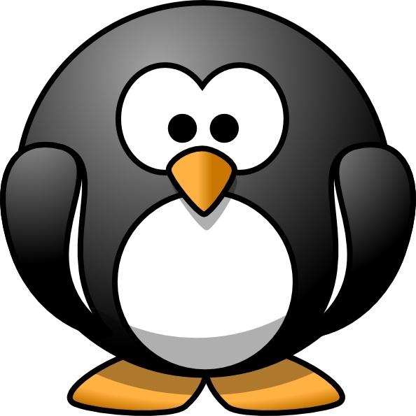 Cartoon clip art free. Clipart penquin linux penguin