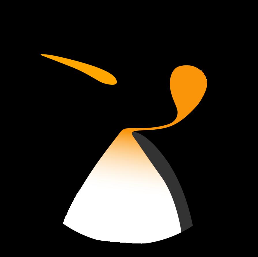 Clipart penquin linux penguin. Tux logo circle color