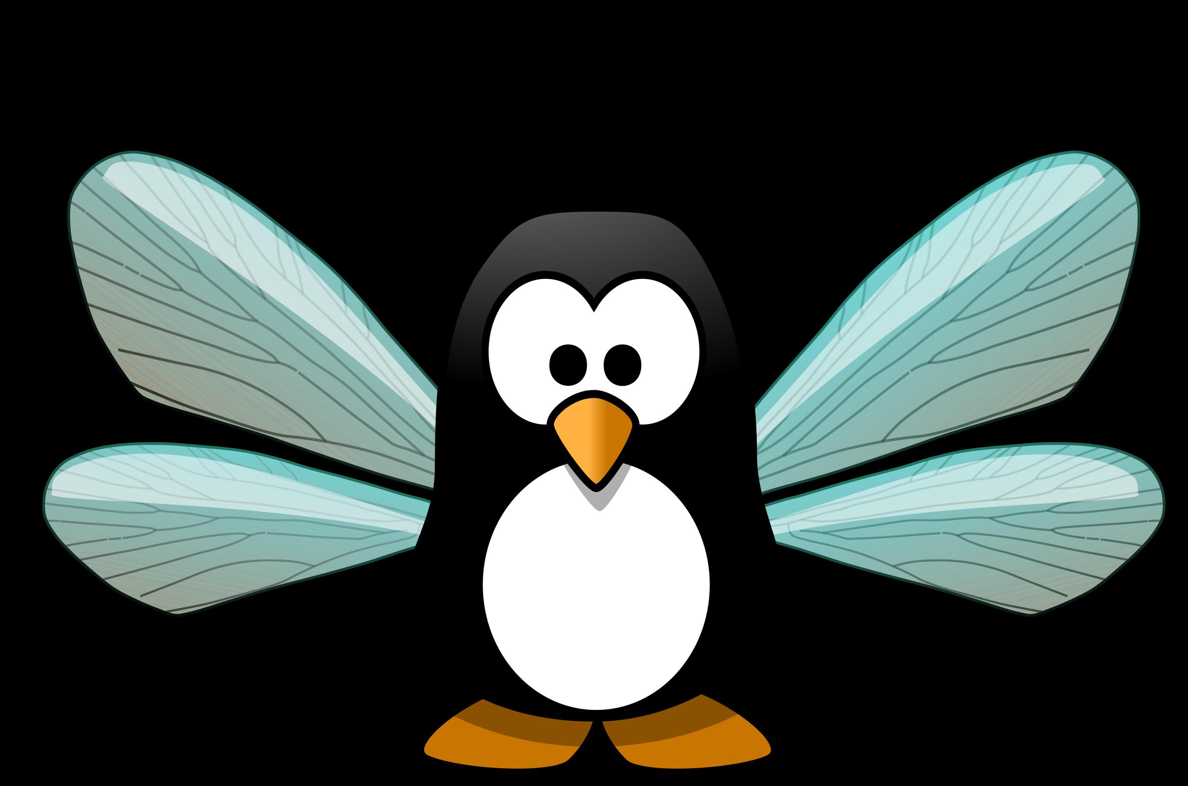 Pixie big image png. Clipart penquin penguin flipper