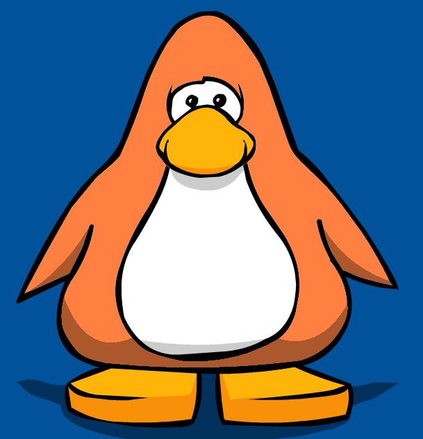 Clipart penquin penguin flipper. Sunburn orange club fanon