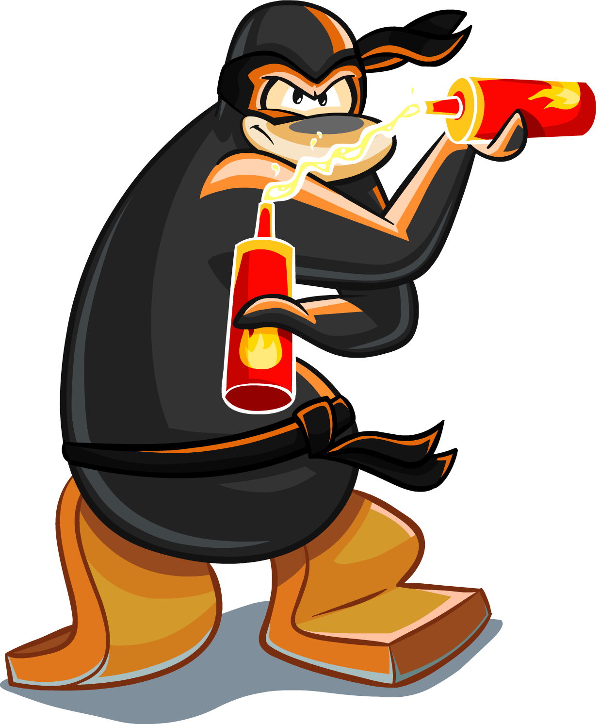 Image png club wiki. Clipart penquin penguin flipper