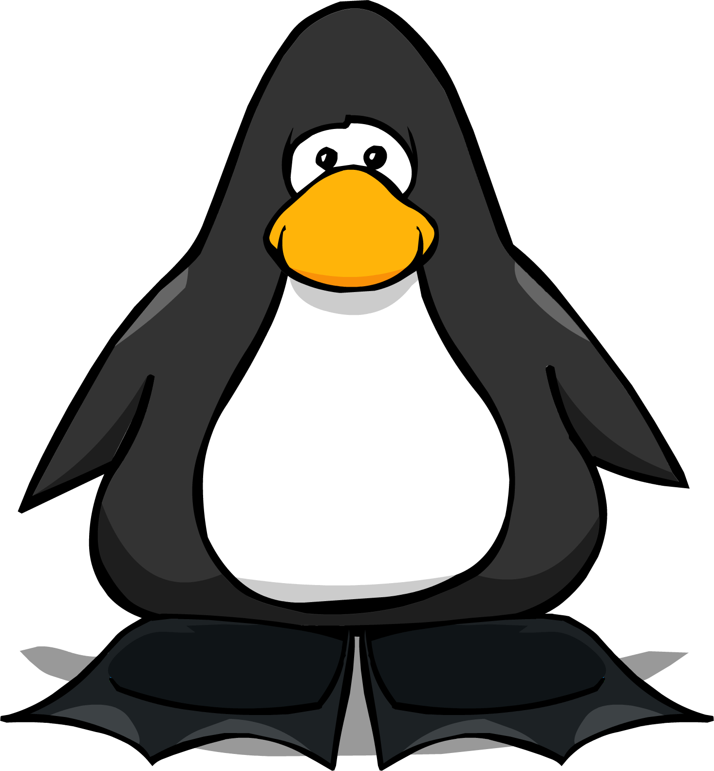 Image black flippers pc. Clipart penquin penguin flipper