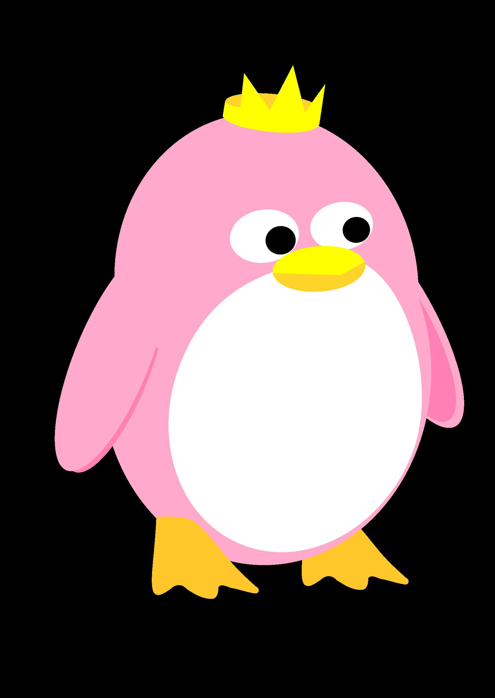 Princess penguin icons png. Clipart penquin svg