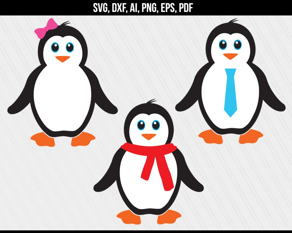 Clipart penquin svg. Pin on dxf cutting