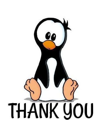 Glitter graphics the community. Clipart penquin thank you