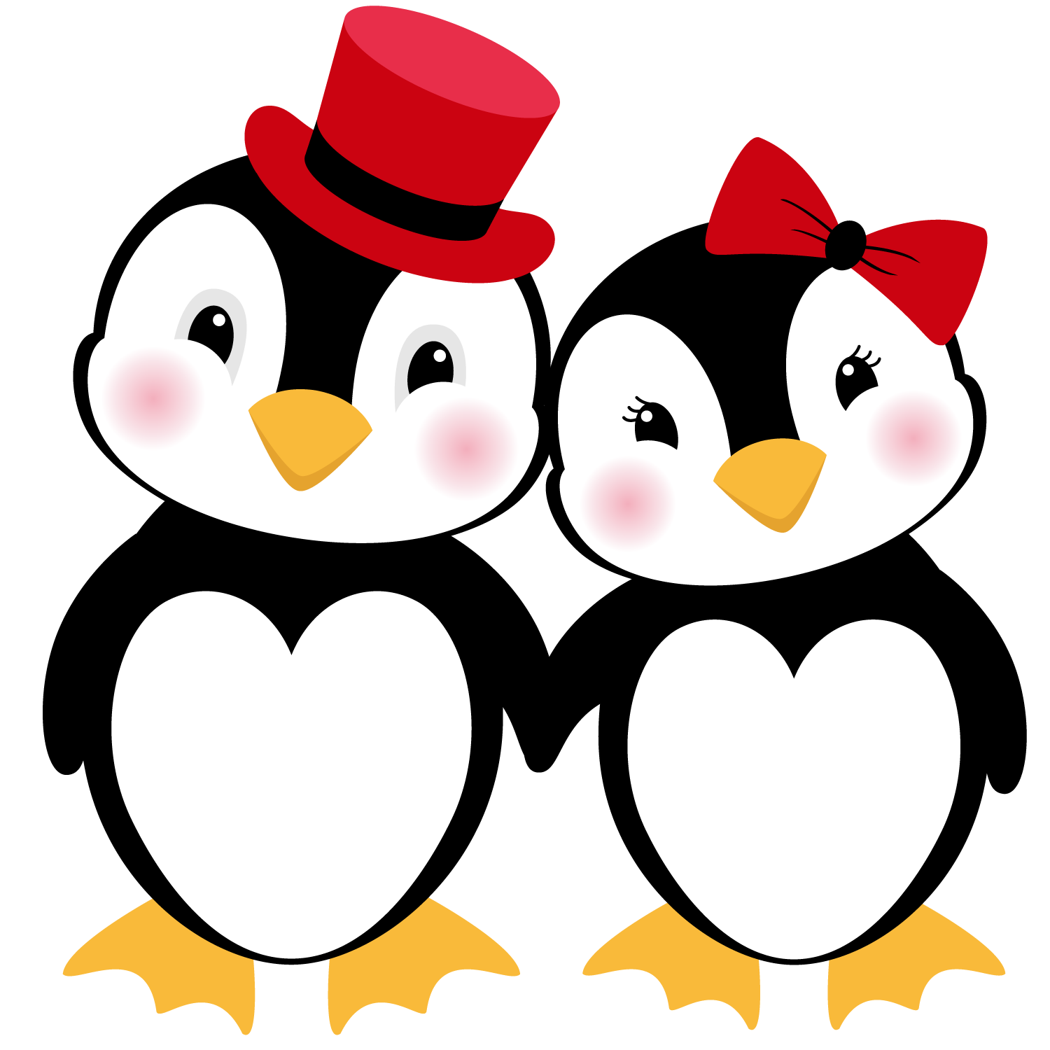 Clipart penquin thank you. Shery k designs