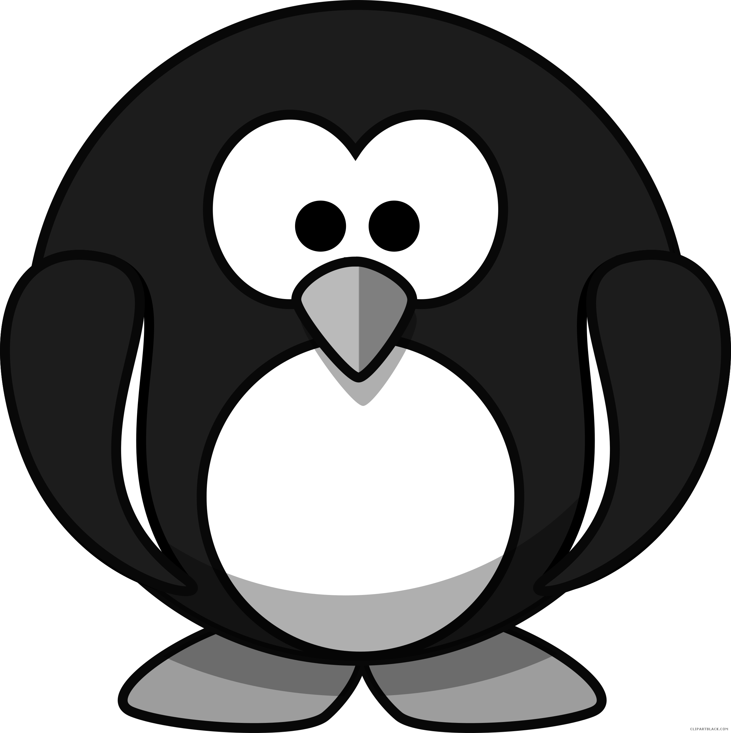 Cartoon penguin clipartblack com. Clipart penquin theme