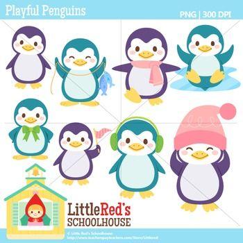 Clipart penquin theme. Penguin clip art penguins