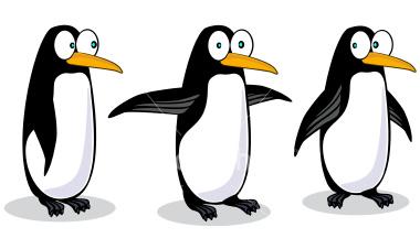 Clipart penquin three. Free cartoon penguins hugging