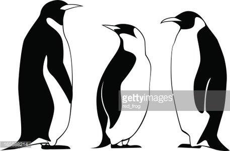 Clipart penquin three. Penguins premium clipartlogo com