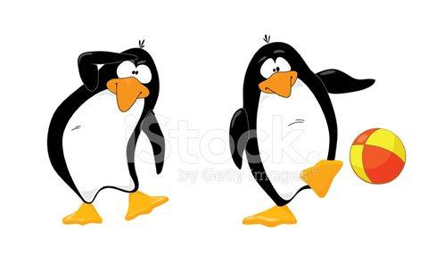 Clipart penquin two. Penguins look on premium