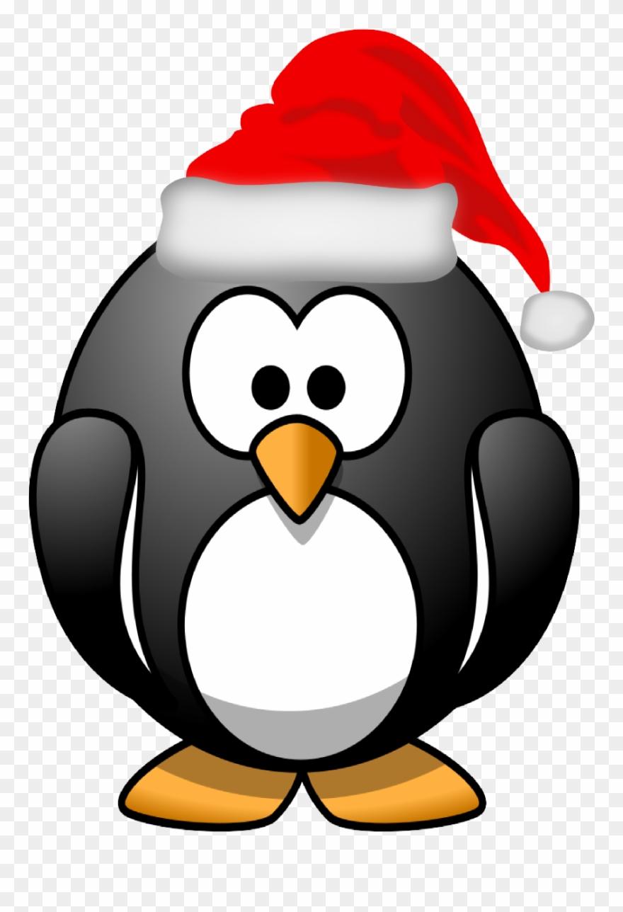 Clipart penquin xmas. Stuff for christmas penguin