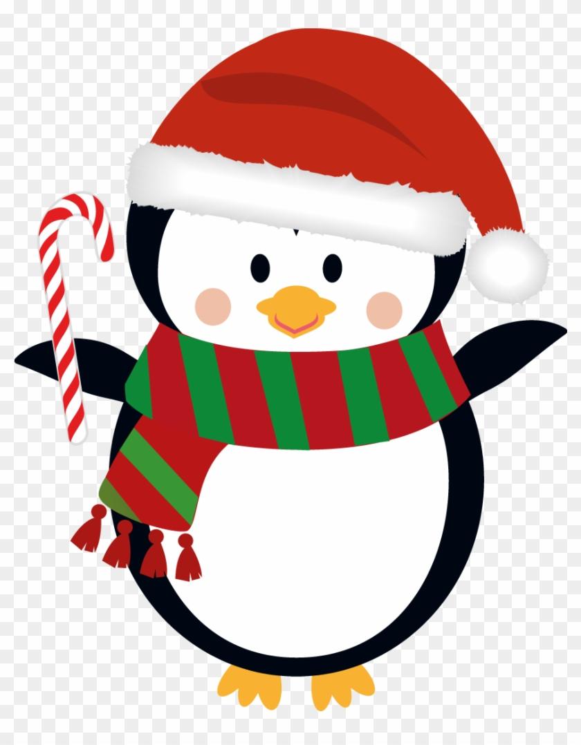Penguin clip art christmas. Clipart penquin xmas