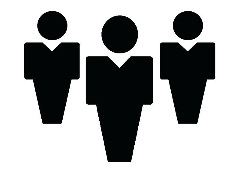 Clipart people. Person silhouette at getdrawings