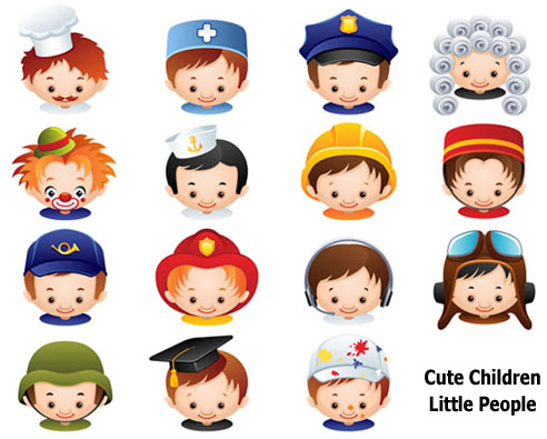 Cute . Clipart people