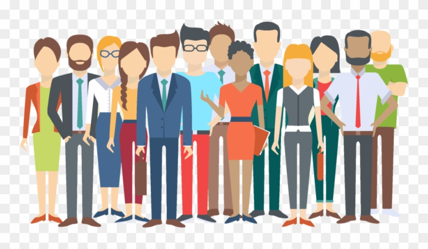 Diversity in the workplace. Employee clipart diverse