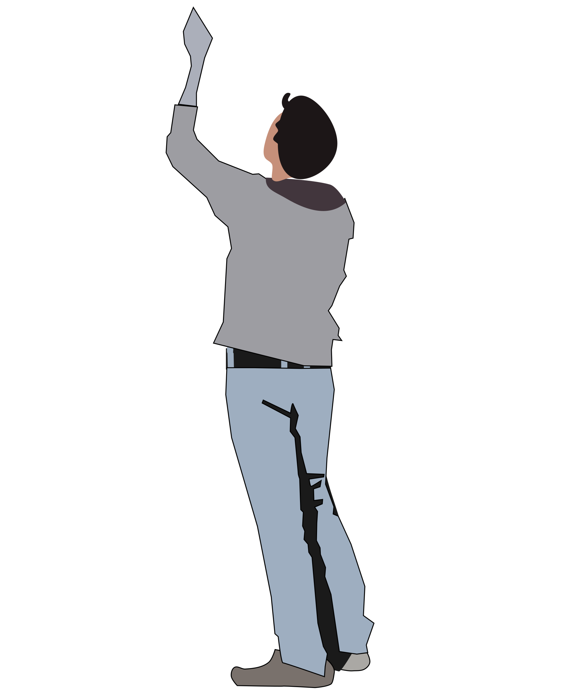 collection of person. Environment clipart man