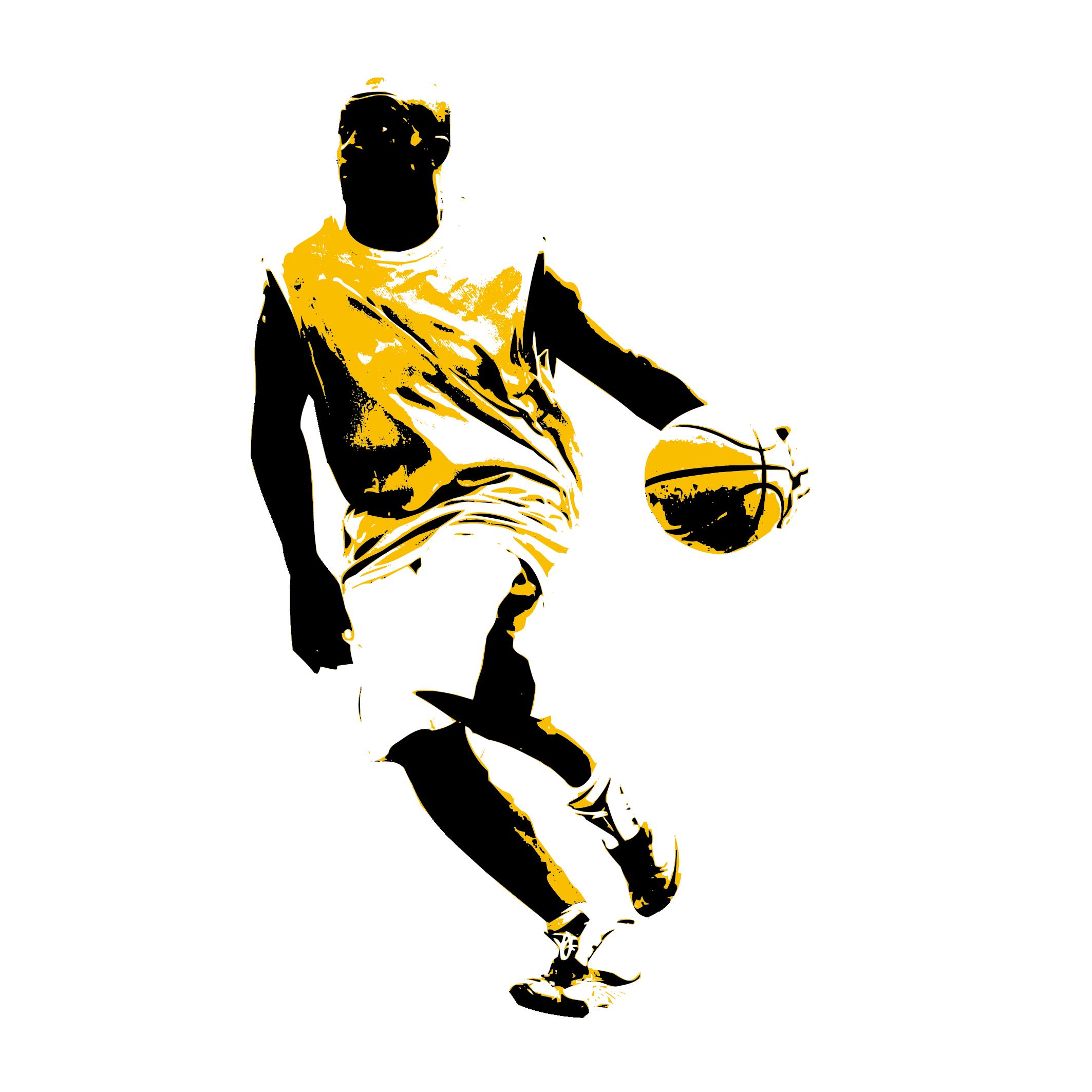 Slam dunk sport clip. Clipart person basketball