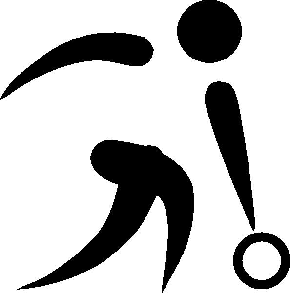 Clip art at clker. Logo clipart bowling